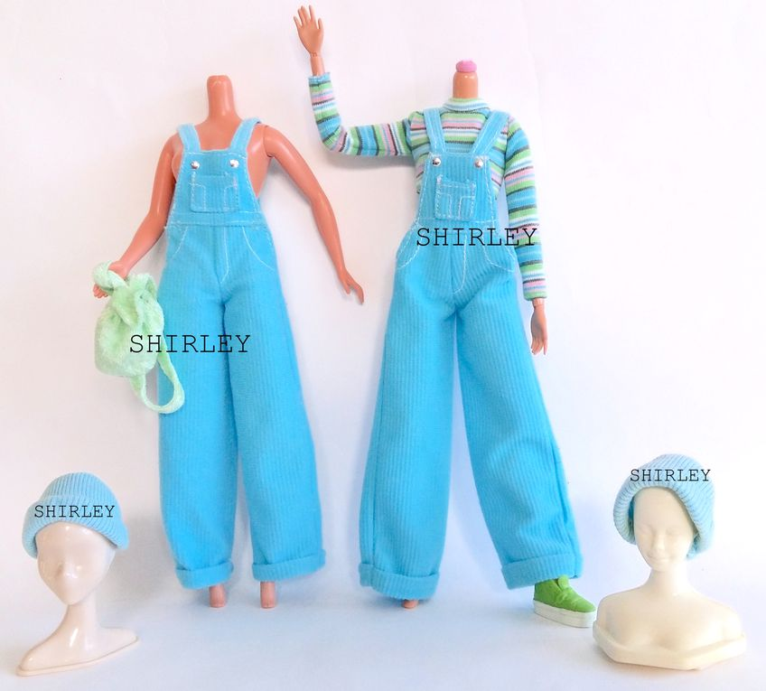 """COOL BLUE"" BARBIE DOLL CLOTHES 1998 MATTEL #20122"