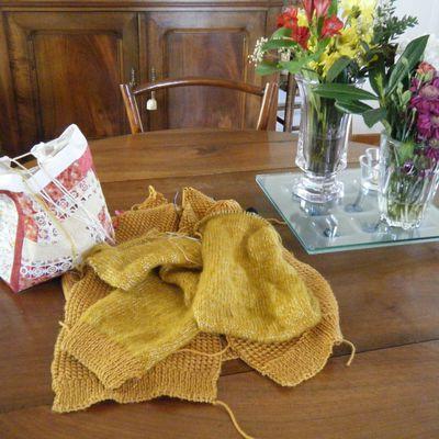 Nouveau tricot et autres bricoles