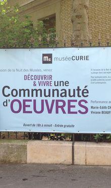 Nuit des musées au Musée Curie