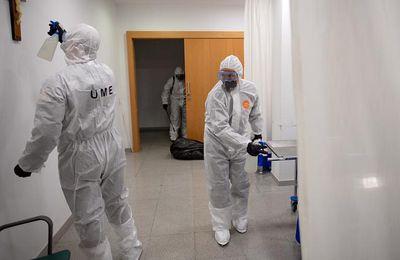 Coronavirus en Europe: le bilan quotidien français du COVID-19 double en une semaine