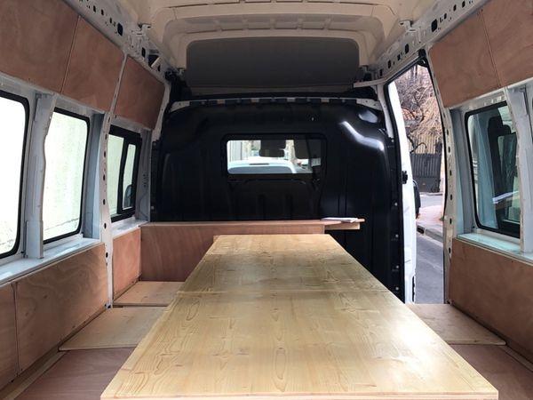 L'aménagement d'un camion pour APS34