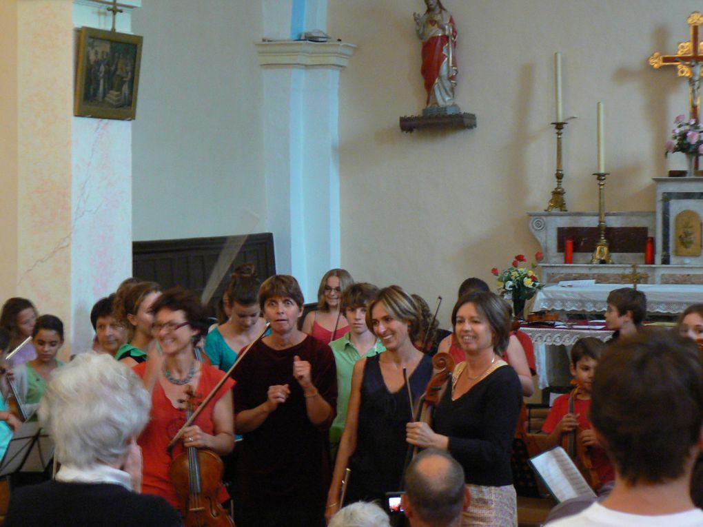 Stage de musique d'ensemble Riouclar 25 aôut-1er septembre 2012
