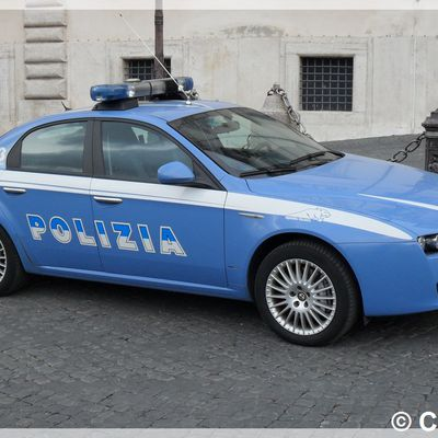 Voiture de Police Italienne (Polizia)