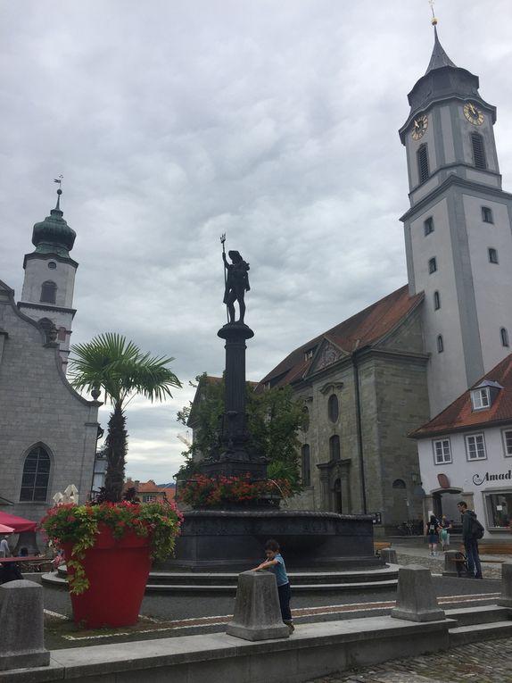 Lindau, ville péninsule depuis laquelle le lac Constance peut être admiré sous toutes ses coutures