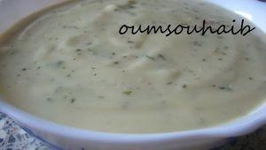 sauce onctueuse pour salade et crudité