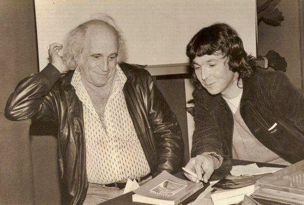 Amiens. Avec Léo Ferré. Mardi 12 Juin 1979. © DR.