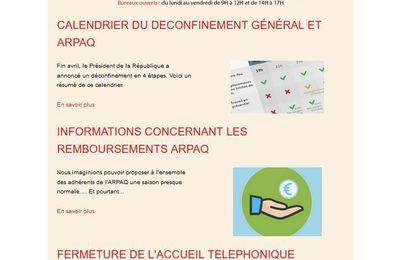 ARPAQ : le Flash Info du 11 mai