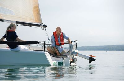 Sailing club Verein Seglerhaus am Wannsee sets example through electric coach boat