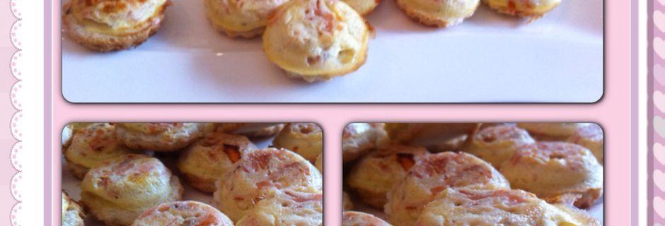 Croques-Quiches au saumon