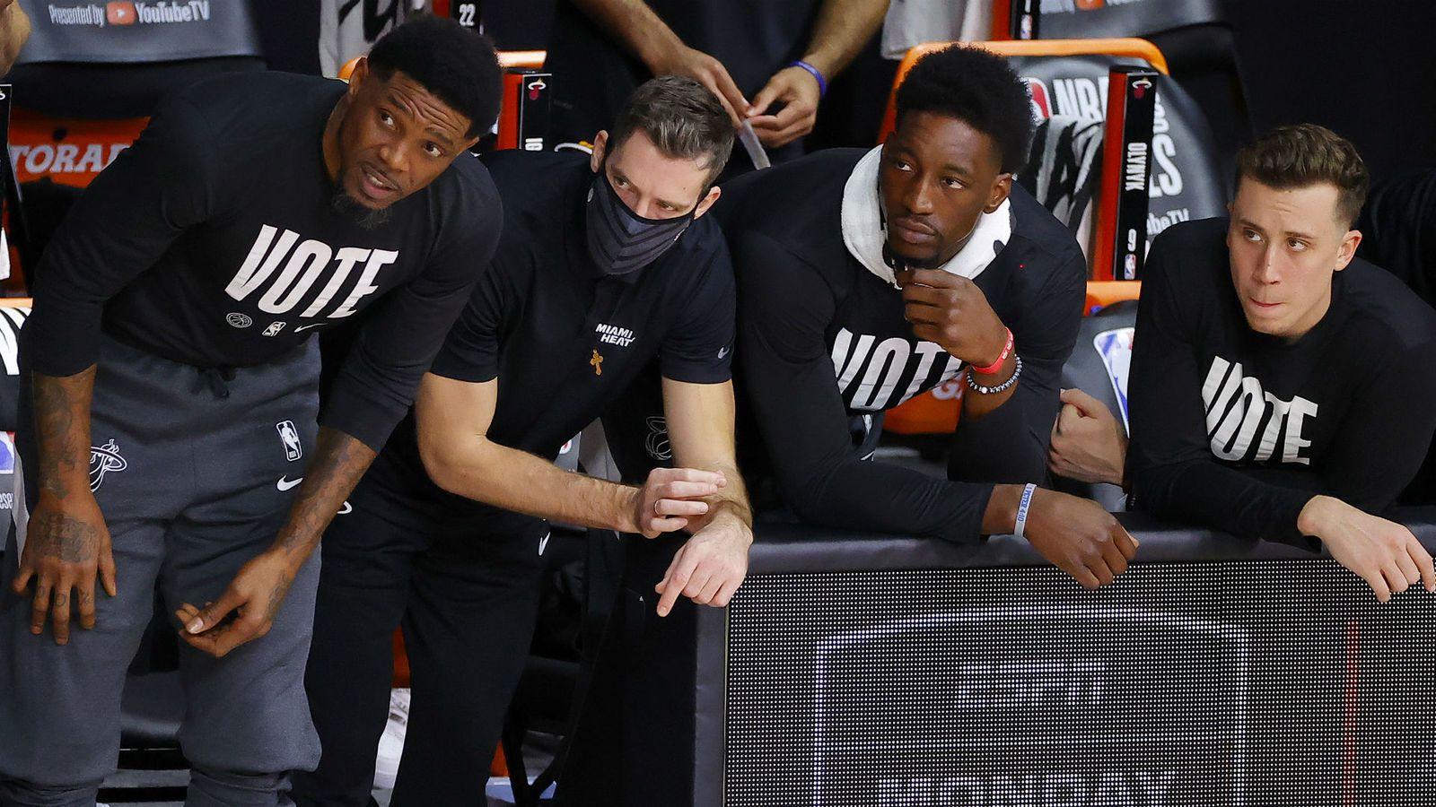 Bam Adebayo et Goran Dragic absents lors du match 3 des Finales NBA