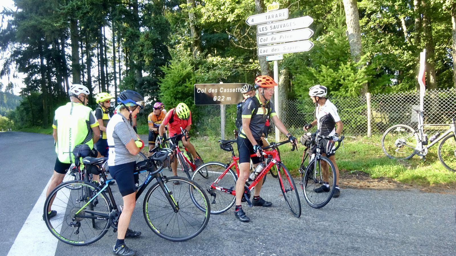 TOUR DU RHONE- Etape 2 -St Clément sur Valsonne >>Ouroux  - Jeudi 26 aout 2021
