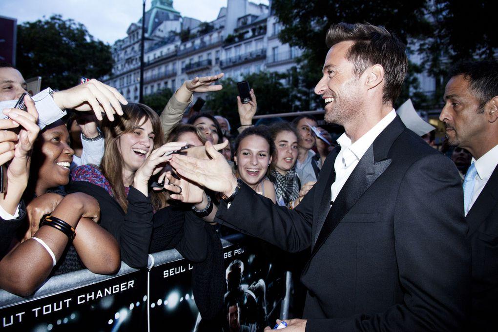 "Hugh Jackman at the Paris premiere of ""Real Steel"". - Grand Rex Paris 6-09-2011"