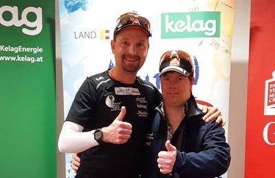 Sportlermeeting mit Alexander Radin und Dominik Pacher des Sportland Kärnten