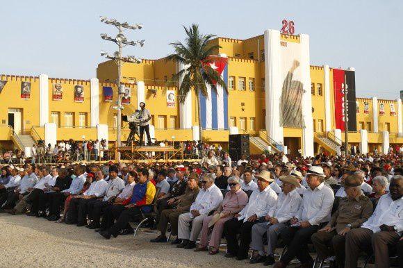 60 ème anniversaire du début de la révolution cubaine : hommage massif du peuple cubain et des présidents latino-américains