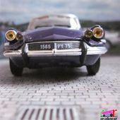 "FASCICULE N°32 CITROEN DS CABRIOLET 1963 ""LE CADDY"" HENRI CHAPRON NOREV 1/43 - car-collector"