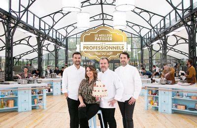"""Le troisième épisode du """"Meilleur pâtissier, les professionnels"""" diffusé ce soir sur M6"""