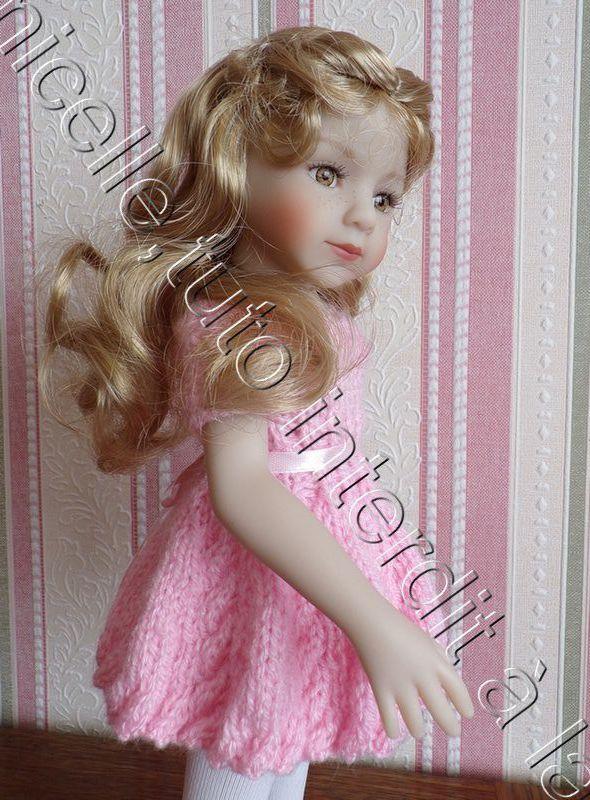 tuto gratuits  poupée  : tenues printanières