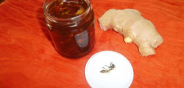 Gingembre  : en miel, confiture ou sirop ... c'est encore et toujours le moment !