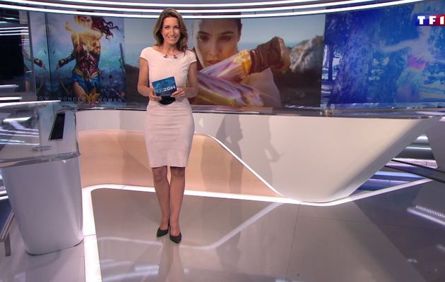 📸38 ANNE-CLAIRE COUDRAY @ACCoudray @TF1 @TF1LeJT pour LE 20H WEEK-END #vuesalatele