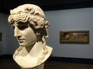 Antinoüs Mondragone - Italie 130 après JC - marbre. Favori de l'empereur Hadrien, Antinoüs mourut en 130 av JC dans les eaux du Nil