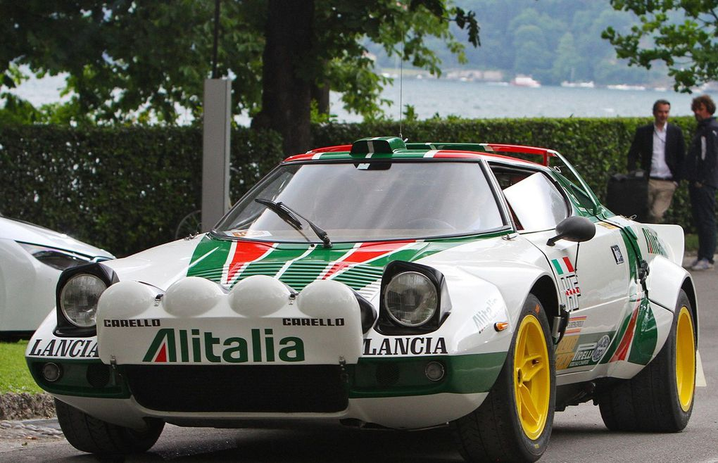 "VOITURES DE LEGENDE (552) : LANCIA STRATOS HF ""GROUPE 4"" - 1976"