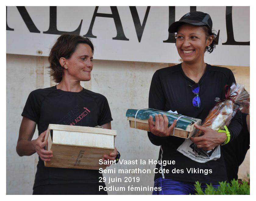 Saint Vaast la Hougue : Semi marathon de la Côte des Vikings