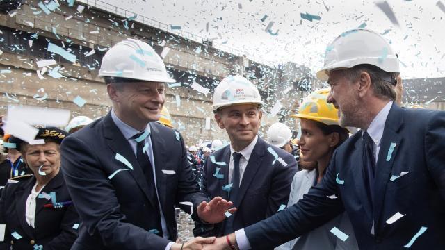 Economie – Une commande géante pour les chantiers STX de Saint-Nazaire
