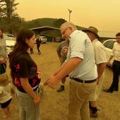 Australian Prime Minister jeered by angry bushfire victims