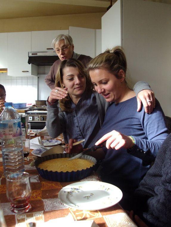 Un we number 3 très intense et très riche : nous avons rencontré Patrice KEGELART , venu comme sénior témoigner de sa mission , Christine DECAMP ancienne jeune volontaire 2006 et 2007 ...et puis Andry et Marina qui nous ont ouvert des perspectiv