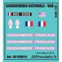 GENDARMERIE NATIONALE - JAPMODELS