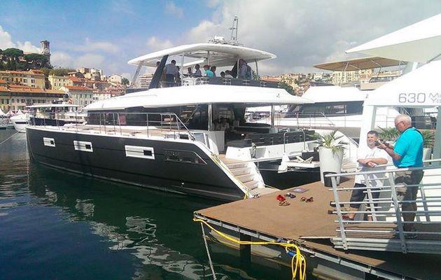 Nouveauté 2014-2015 - le Lagoon 630 Motor Yacht visible à Cannes