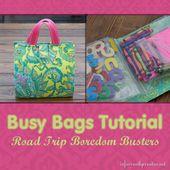Busy Bag Tutorial