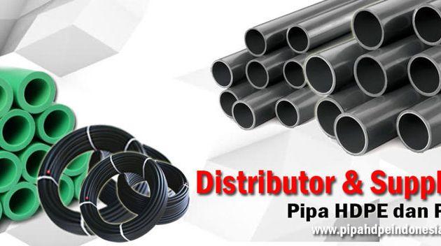 Supplier Pipa HDPE & Distributor Pipa HDPE Terpercaya