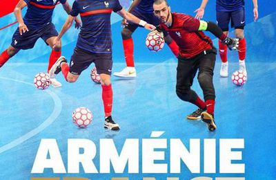 Arménie / France (Euro 2022 Futsal) en direct mercredi sur FFF TV