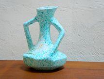 Vase vallauris Borty ceramique années 60 vintage edelweiss année