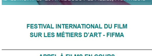 Le Festival International du Film sur les Métiers d'Art lance son appel à films