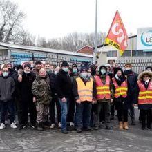 Succès de la grève de la fonderie de la Foulerie (08)