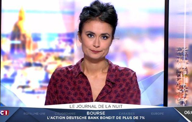 JULIE HAMMETT @juliehammett pour LE JOURNAL DE LA NUIT @lci cette nuit #vuesalatele