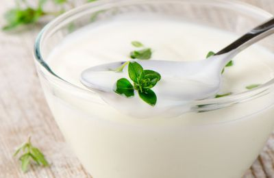 Menus regime yaourt