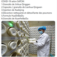 Covid-19 : l'Ambassade de Chine en France prescrit...