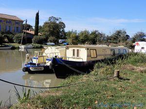 Le Somail, canal du midi en camping-car