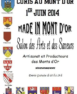 """Made in Mont d'or"" dimanche 1er Juin 2014"