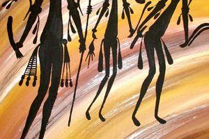 Aborigènes du Kimberley, gardiens de Wandjina et des ancêtres Gwion Gwion.