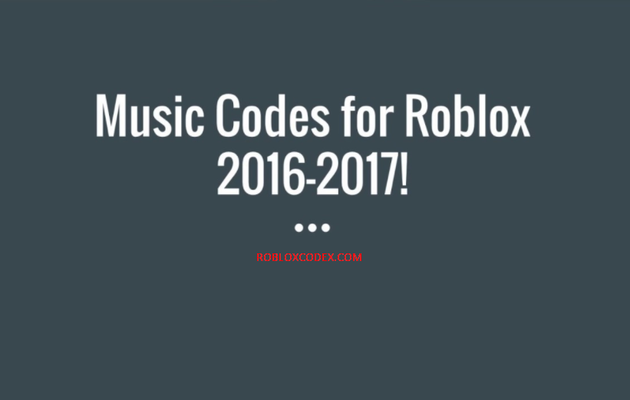 Roblox Music Codes in One Place