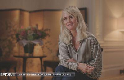 """Audrey Crespo-Mara dresse le portrait de Laeticia Hallyday dans """"Sept à Huit"""" ce soir sur TF1"""
