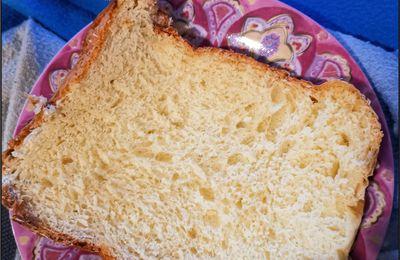 Brioche avec ma machine à pain