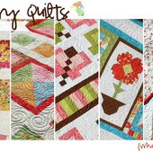 Green Fairy Quilts: Flower Patch QAL Quilt Finished.