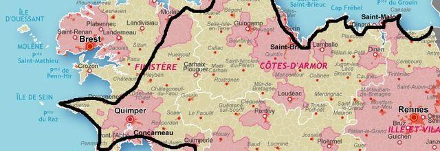 Vacances en Bretagne : entre Concarneau et Trégastel...3ème partie