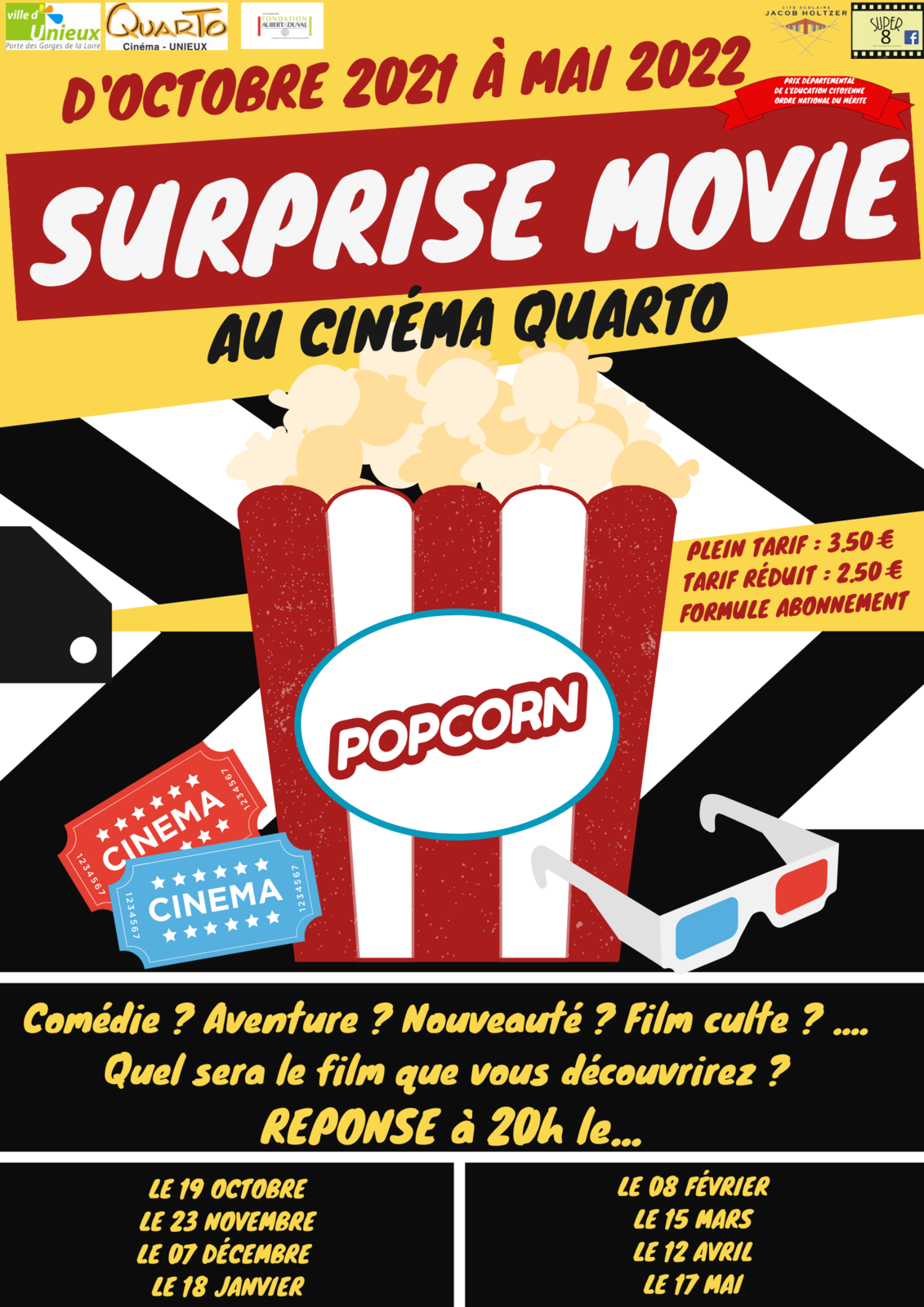 Back to Surprive Movie !