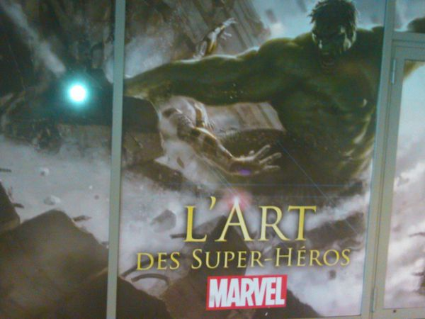 Exposition Marvel supers-héros